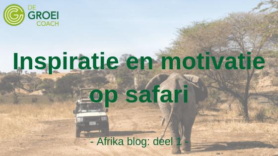 De Groeicoach safari blog groeiblog