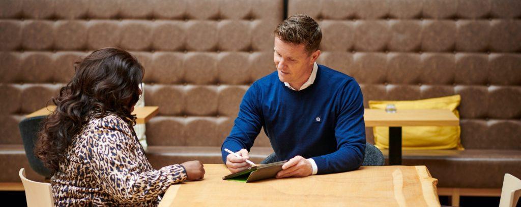 De Groeicoach in coaching sessie