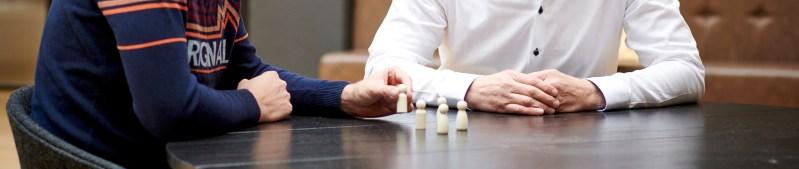 Organisatie opstelling Systemisch werk tafelopstelling