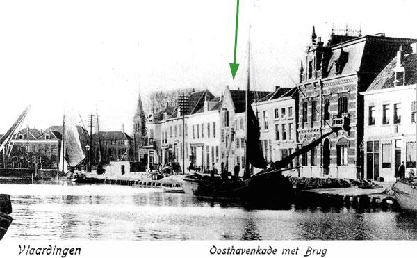 Vlaardingen - Oosthavenkade met brug