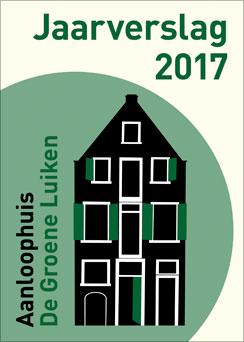 Kaft Jaaarverslag 2017 - De Groene Luiken