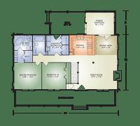 Open Concept Ranch Home Floor Plans