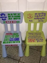 NEW TREND: Personalized Time Out Chairs For Kids [Photo ...