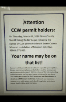 photo: Circulating Flyer provided by Stone County Sheriff's Office