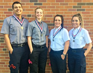From left to right - Ivan Garcia, Carliee Whorton, Sonjia Cotter, and Alex Gangemi.