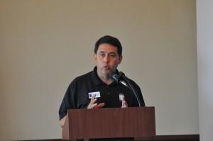Professional Disc Golf Association Executive Director Brian Graham