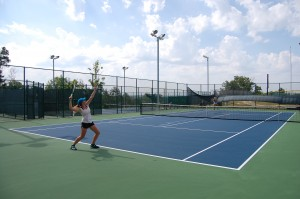 The tennis courts at Stockstill Park in Branson (photo from bransonparksandrecreation.com)