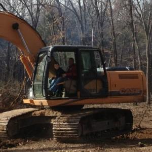 Kirks excavation