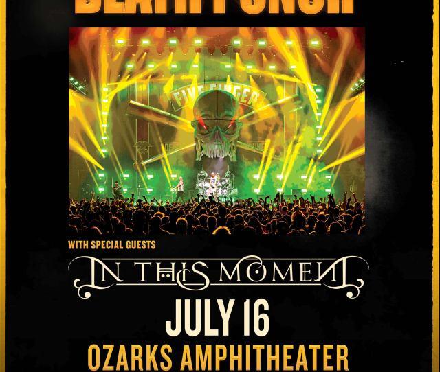 Five Finger Death Punch At Ozarks Amphitheater Q