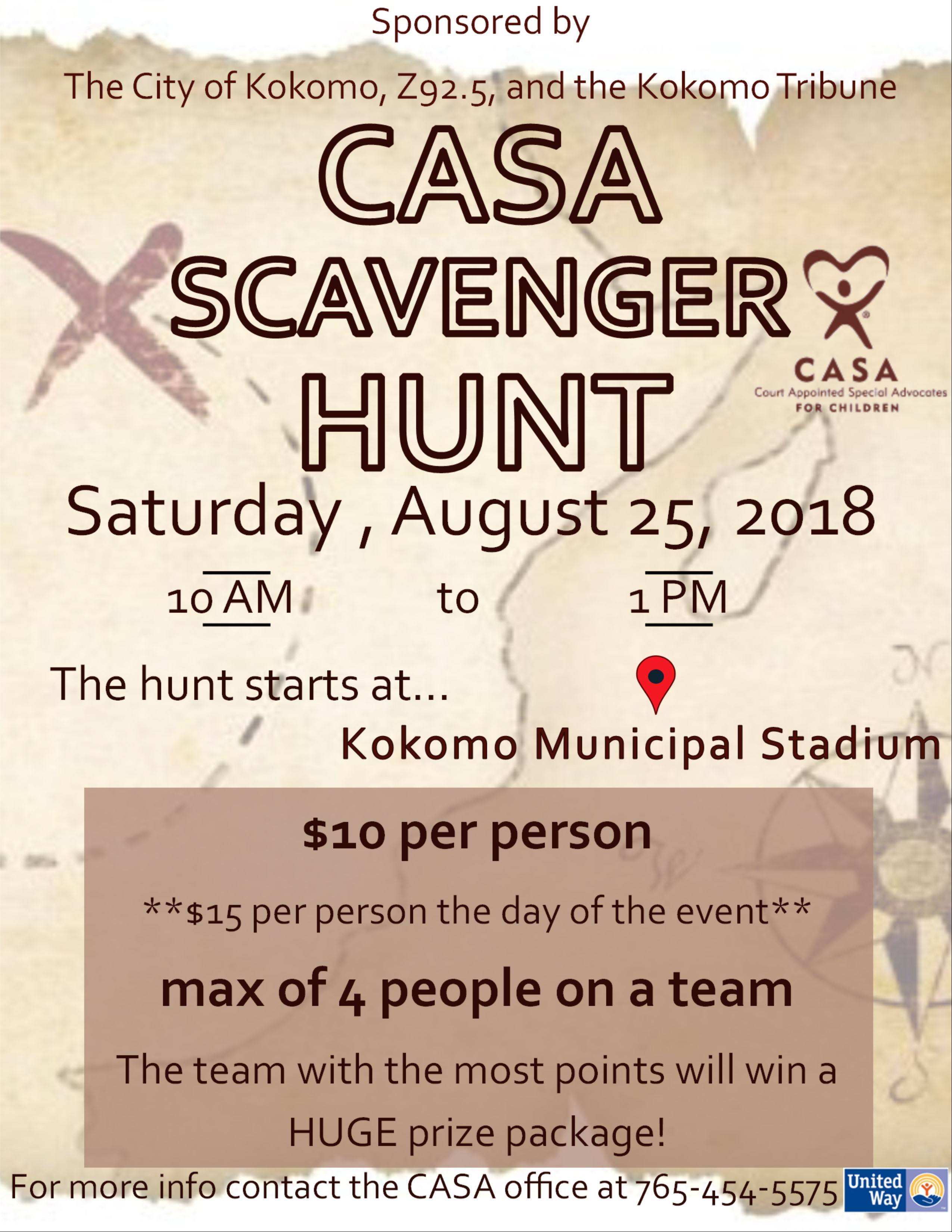 2nd Annual Casa Scavenger Hunt