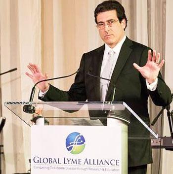 Global Lyme Alliance's new chairman Robert Kobre.