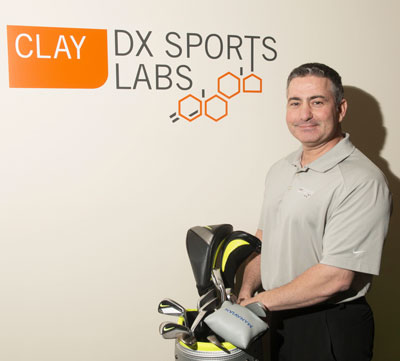 Michael Manavian, Director of Performance and Golf Professional at Clay Health Club & Spa.