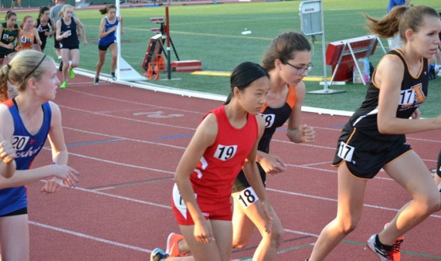 The Greenwich High School boys and girls track and field teams competed with the best the CIAC class LL had to offer during Wednesday's championship. (Paul Silverfarb photo)