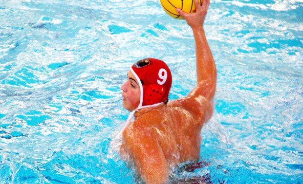 Greenwich High captain Andrew Triscari fires a ball to the net during a recent game. (Cheryl Moss photo)