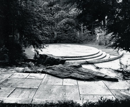 "This photo of the O'Neil Amphitheater was taken by Edwina Stevenson, Josie Merck's stepdaughter, in the early nineties. Merck traces her ""love affair"" with the theater back 40 years. (Edwina Stevenson photo)"