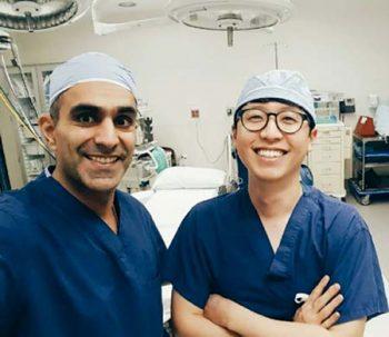 ONSF Hosts Medical Intern from Korea