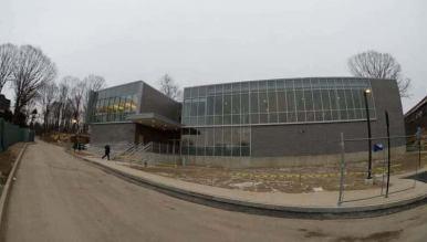 New Lebanon School building