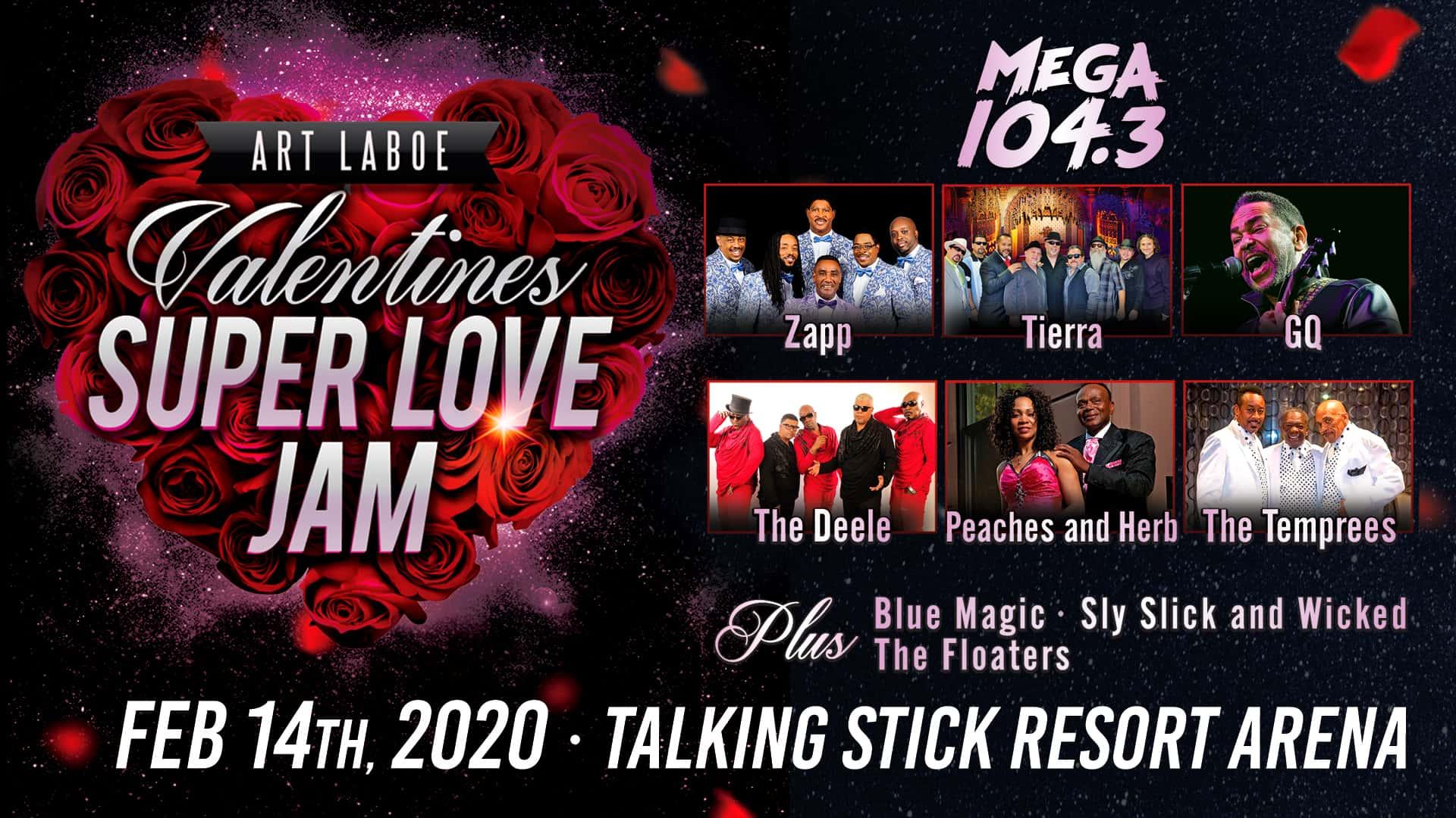 Valentines Super Love Jam | Mega 104.3