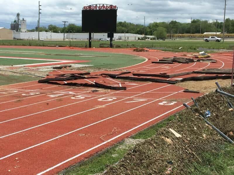 Pictures Flooding Devastates West Plains Athletic Facilities Ozark Sports Zone
