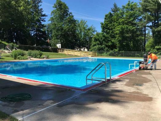 Lt. Gov. John Fetterman Opens Pool At His Official ...