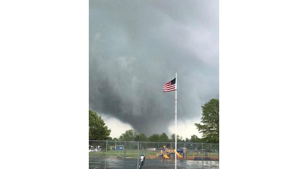 Tornado Causes Damage Forces Lead Hill Schools To Cancel