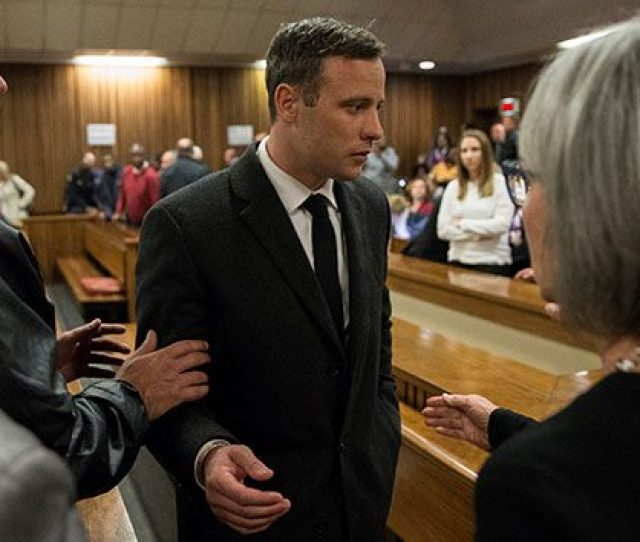 Marco Longari Pool Getty Imagesnew York Paralympic Athlete And Convicted Killer Oscar Pistorius Will Spend The Next  Years And Five Months Behind