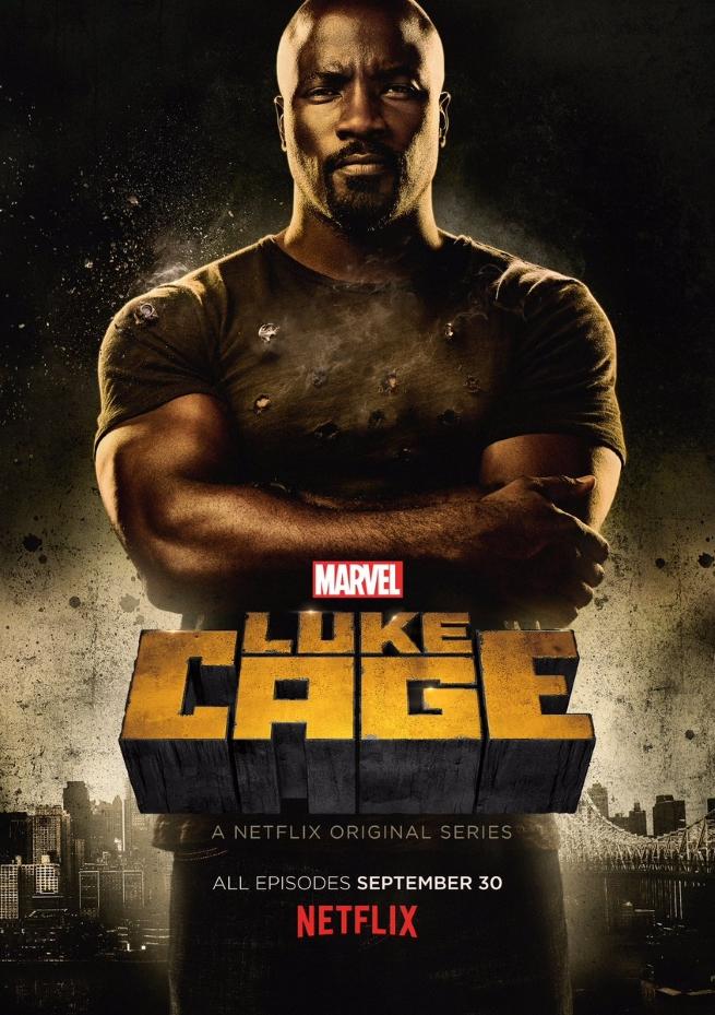 Luke Cgae Poster