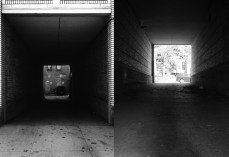 Tunnel, diptych