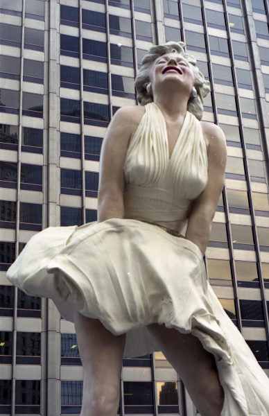 The Marilyn Monroe Statue