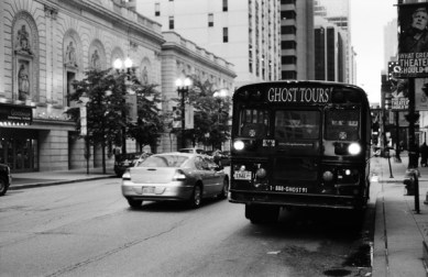 Ghost tours? Just follow me around.