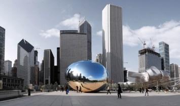 Millennium Park Chicago Panorama