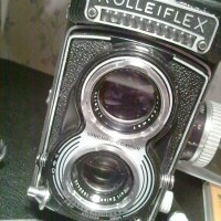 Rolleiflex T Front Disassembly