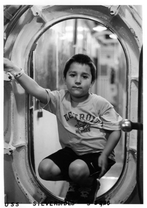 Inside the submarine. Leica M2 Summicron DR