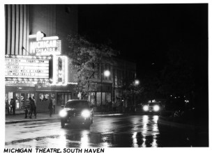 Afterdark Michigan Theatre. Kodak Retina IIIC