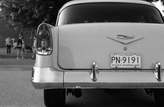 My favourite photo of the series. Also one of my favourite license plate.