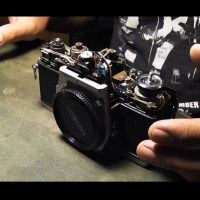 Minolta SRT 101 Top Disassemble