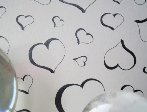 عکس عاشقانه طراحی شده