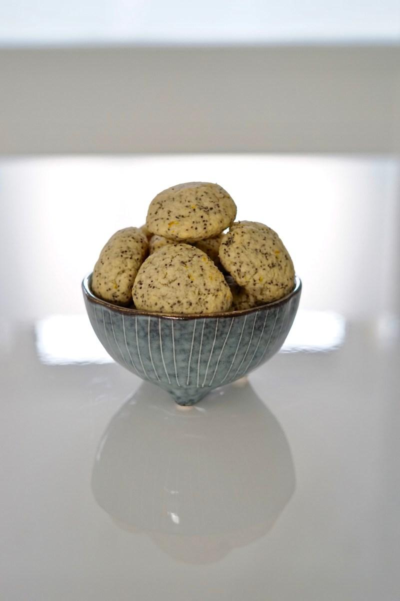 Citroen-maanzaad koekjes