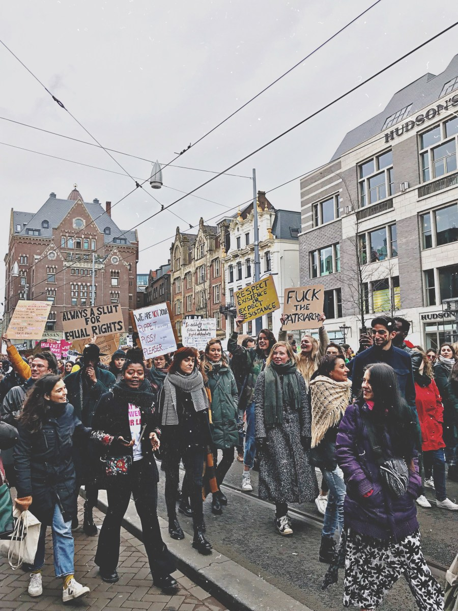 Women's March Amsterdam 2019