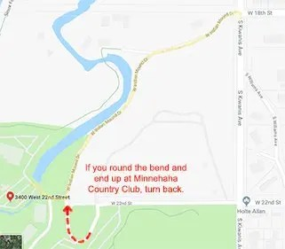 Map The Country Club of Sioux Falls ELU - Davenport, Evans