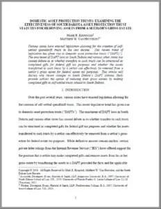 Krogstad and Van Heuvelen South Dakota Law Review Article Page