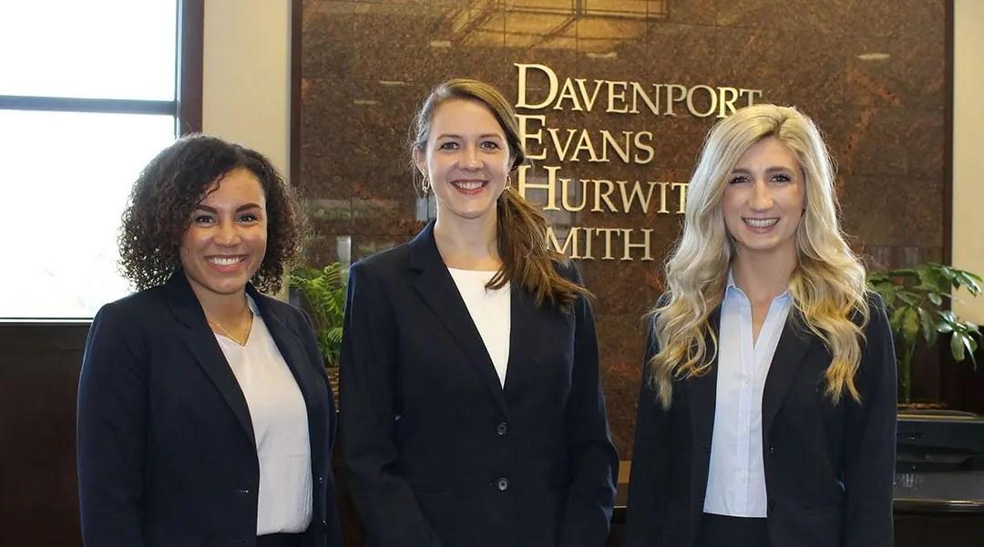 Davenport Evans Welcomes 2017 Summer Associates