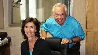 Davenport Evans lawyer Jean Bender and Bill Zortman of KELO NewsTalk