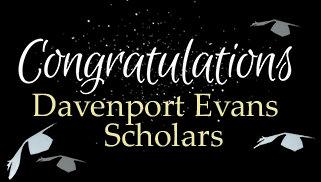 Announcing 2018 Davenport Evans Scholarship Students