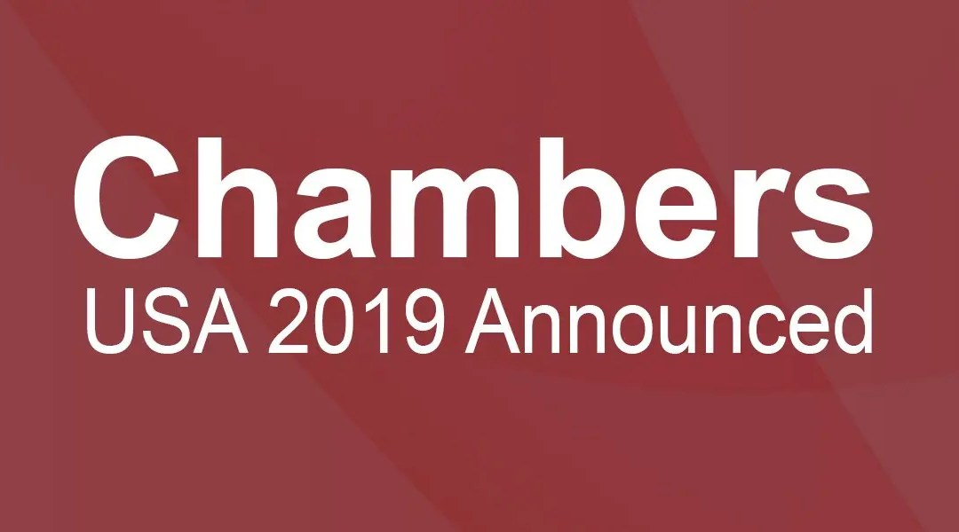 Chambers USA: Davenport Evans Lawyers Rank Tier One in 2019