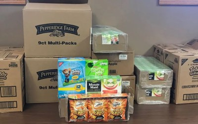 80 Kids' Snack Packs for 80 Years, Family Visitation Center