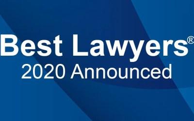 Best Lawyers® 2020 Recognizes 16 Davenport Evans Lawyers