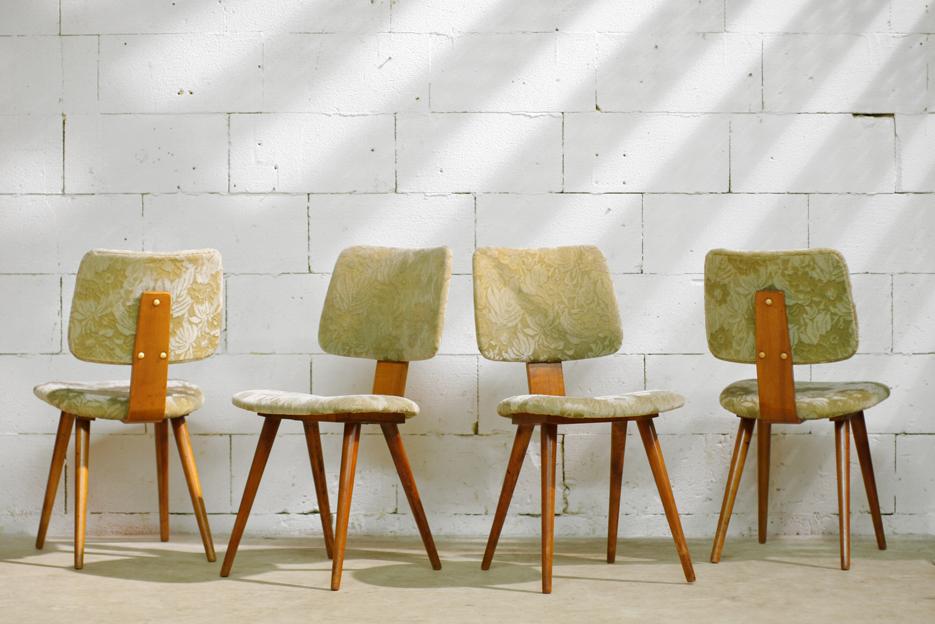 Geweldig ontwerp Retro Vintage stoelen jaren 50 Pastoe