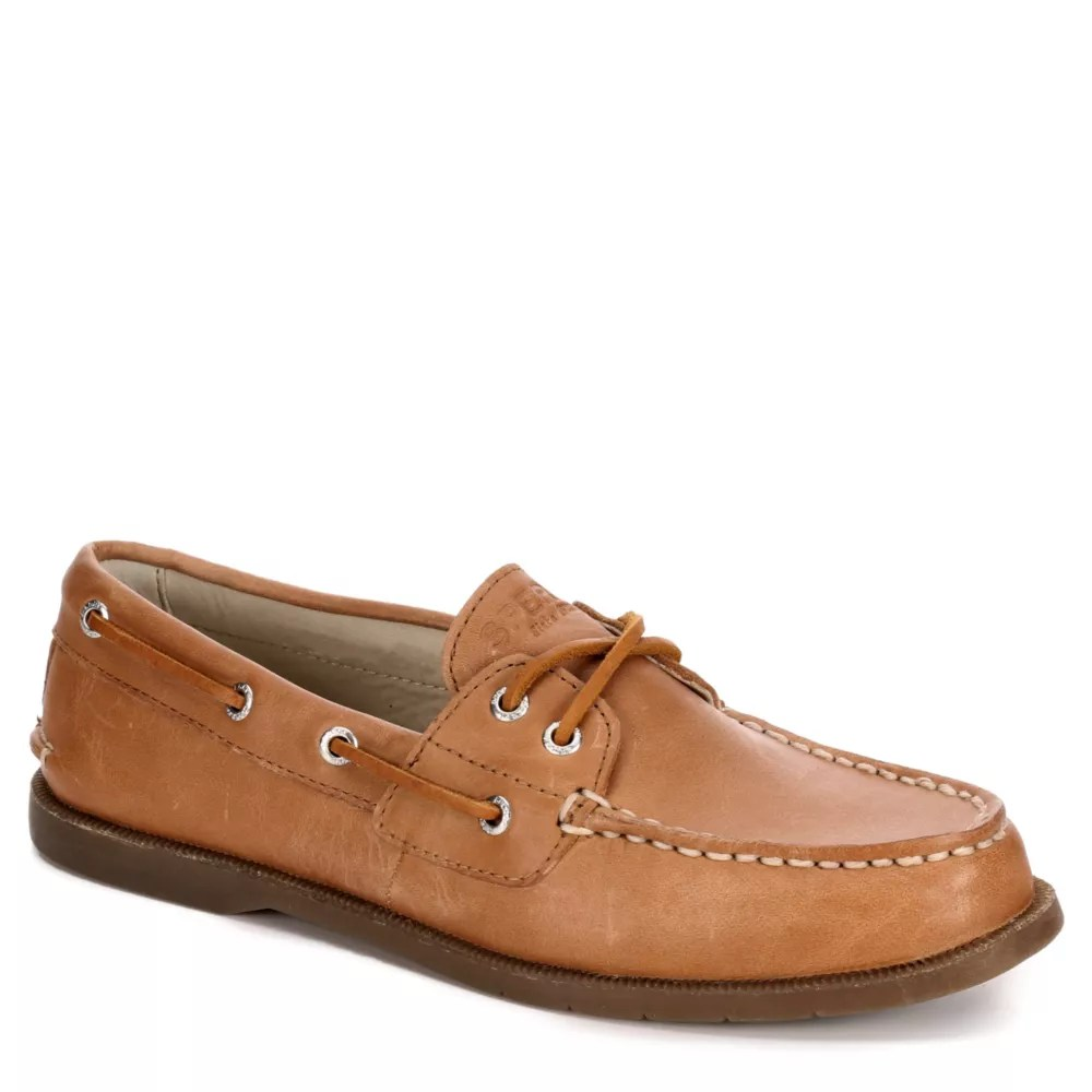 tan sperry womens conway boat shoe