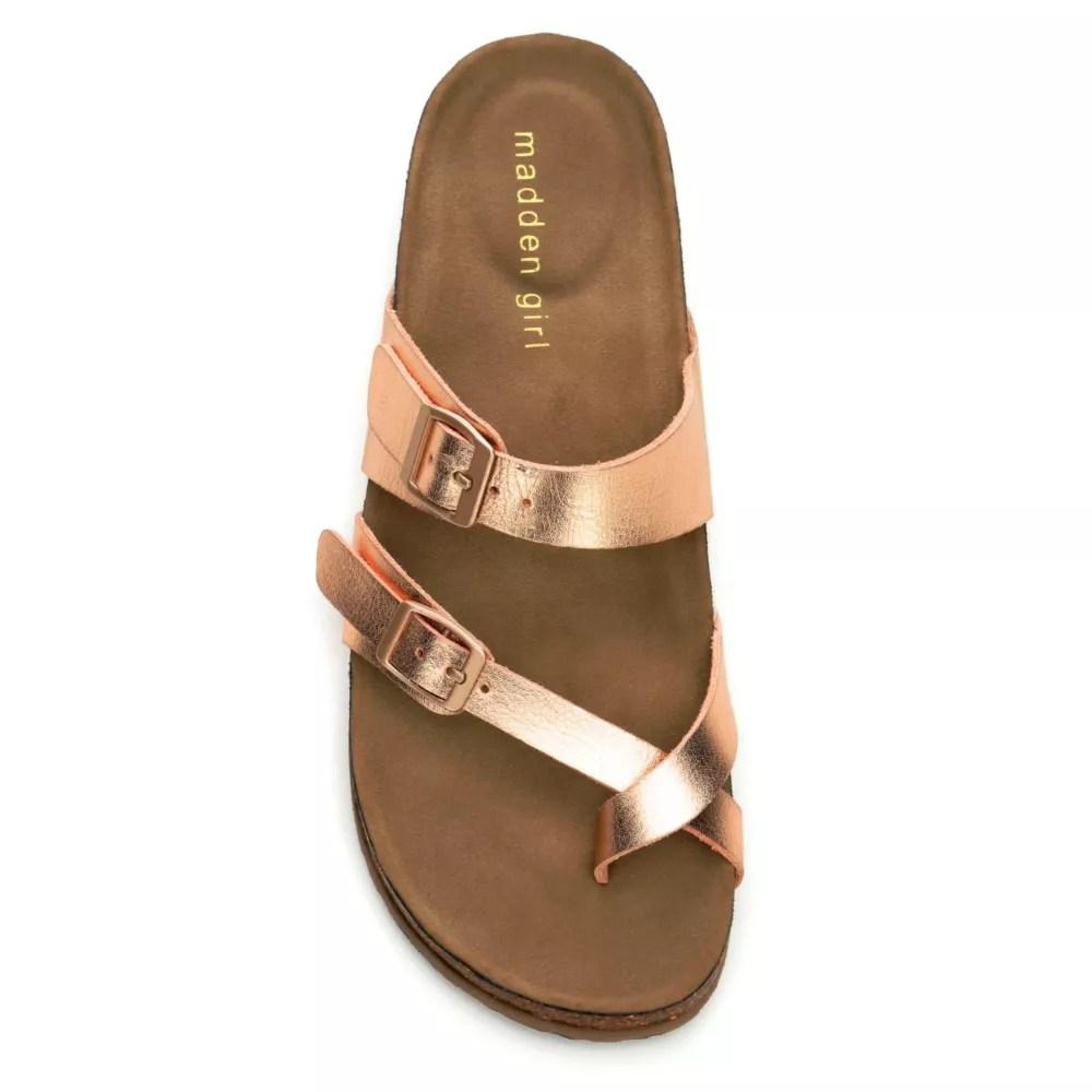 Rose Gold Madden Girl Womens Bryceee  Sandals  Rack Room